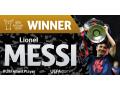 Messi nhận giải cầu thủ xuất sắc châu Âu mùa 2014 - 2015