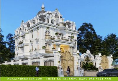Thiết Kế Biệt Thự Cổ Điển Châu Âu Đẹp   Cô Hiền   Quận 12   BT161