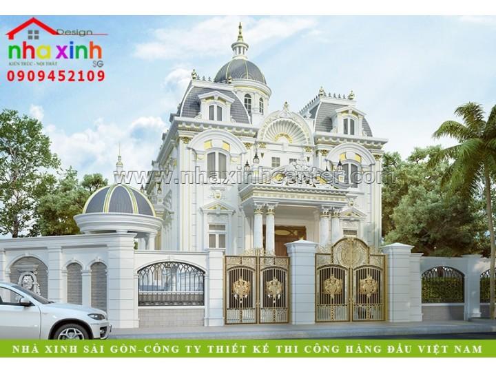 Biệt Thự Cổ Điển Pháp | Chị Kim Anh | Biên Hòa | BT-158