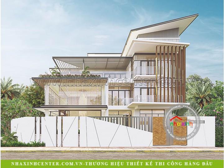 Top 5 Mẫu Biệt Thự Hiện Đại Được Săn Đón Năm 2021
