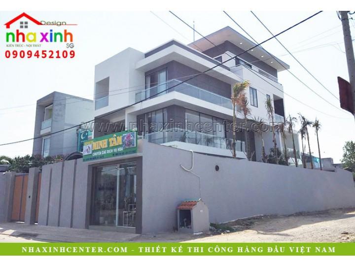 Biệt Thự Đẹp 3 Tầng Có Sân Vườn | Chị Giang | Nhà Bè | BT-188
