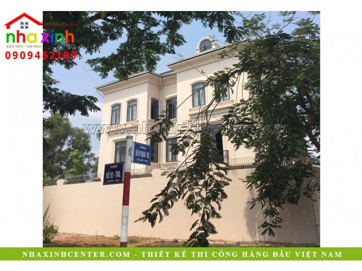 Biệt Thự Cổ Điển Châu Âu 3 Tầng | Chú Thái Ô Tô Sài Gòn | Quận 2 | BT-100