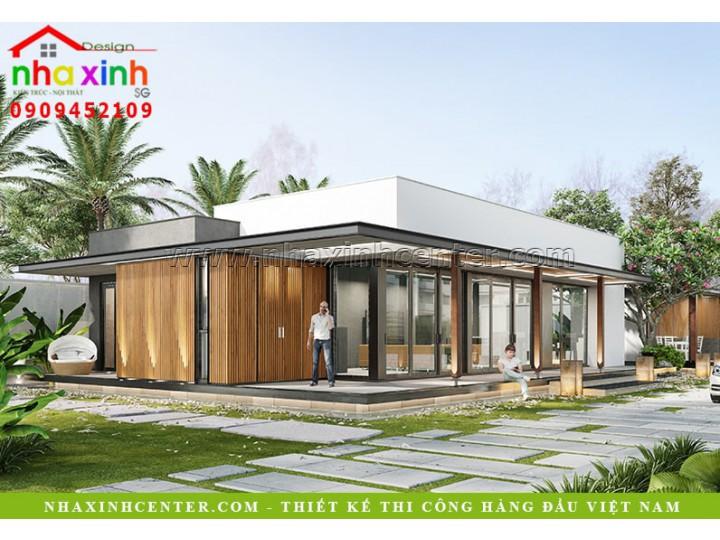 Thiết Kế Villa Sân Vườn Đẹp | Chú Cường | Quận 2 | BT-110