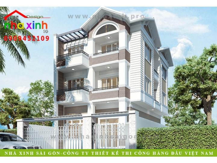 Mẫu Biệt Thự Đẹp | A. Công Minh | GĐ Cty Cây Xanh Bình Phước | BT-165