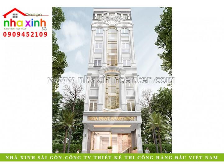 Thiết Kế Chung Cư Văn Phòng Đẹp | Anh Hóa | Quận 7 | NP-154