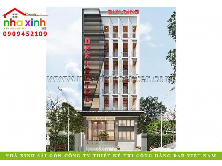 Thiết Kế Văn Phòng Nhiều Tầng | Ông Phú | Tân Phú | NP-164