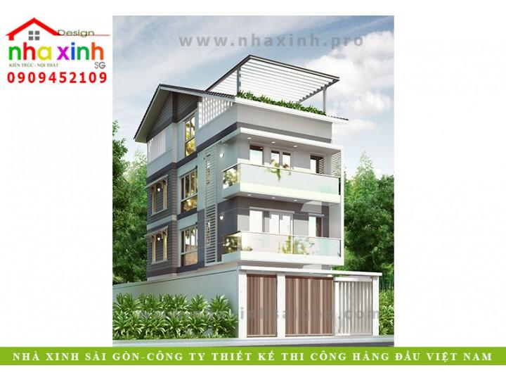 Mẫu Nhà Phố Xinh Hiện Đại | Anh Sơn | Quận 2 | NP-115