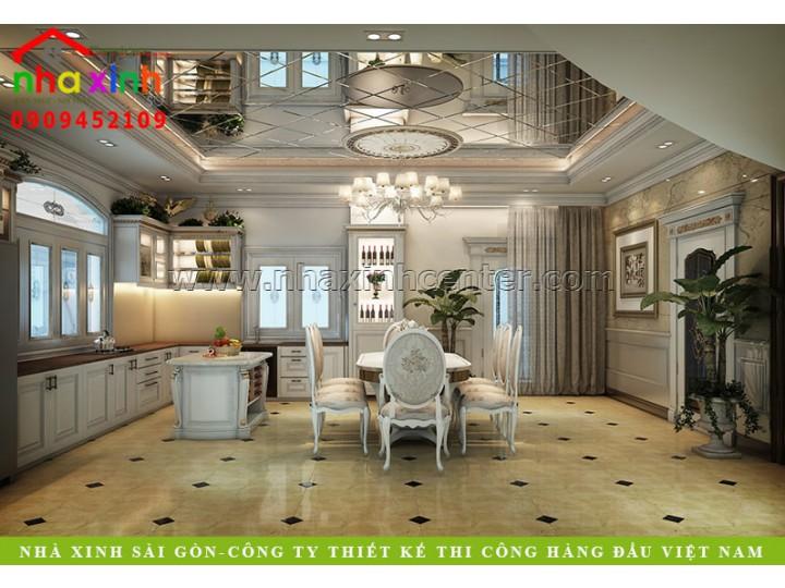 Nội Thất Đẹp Cho Biệt Thự Cổ Điển | Ông Hưng | NT-239