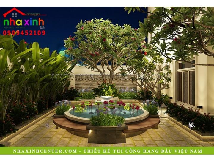 Thiết Kế Nội Thất Biệt Thự Đẹp Theo Phong Thủy | Chú Thái | NT-183
