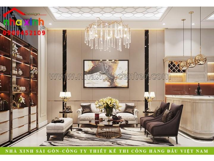 Nội Thất Nhà Phố Đẹp 4 Phòng Ngủ | Anh Đông | NT-207
