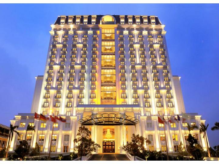 Thiết Kế Khách Sạn Đông Dương 16 Tầng