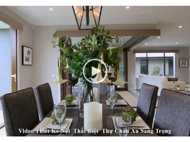 Video Mẫu Nội Thất Nhà Đẹp Gần Gũi Với Thiên Nhiên
